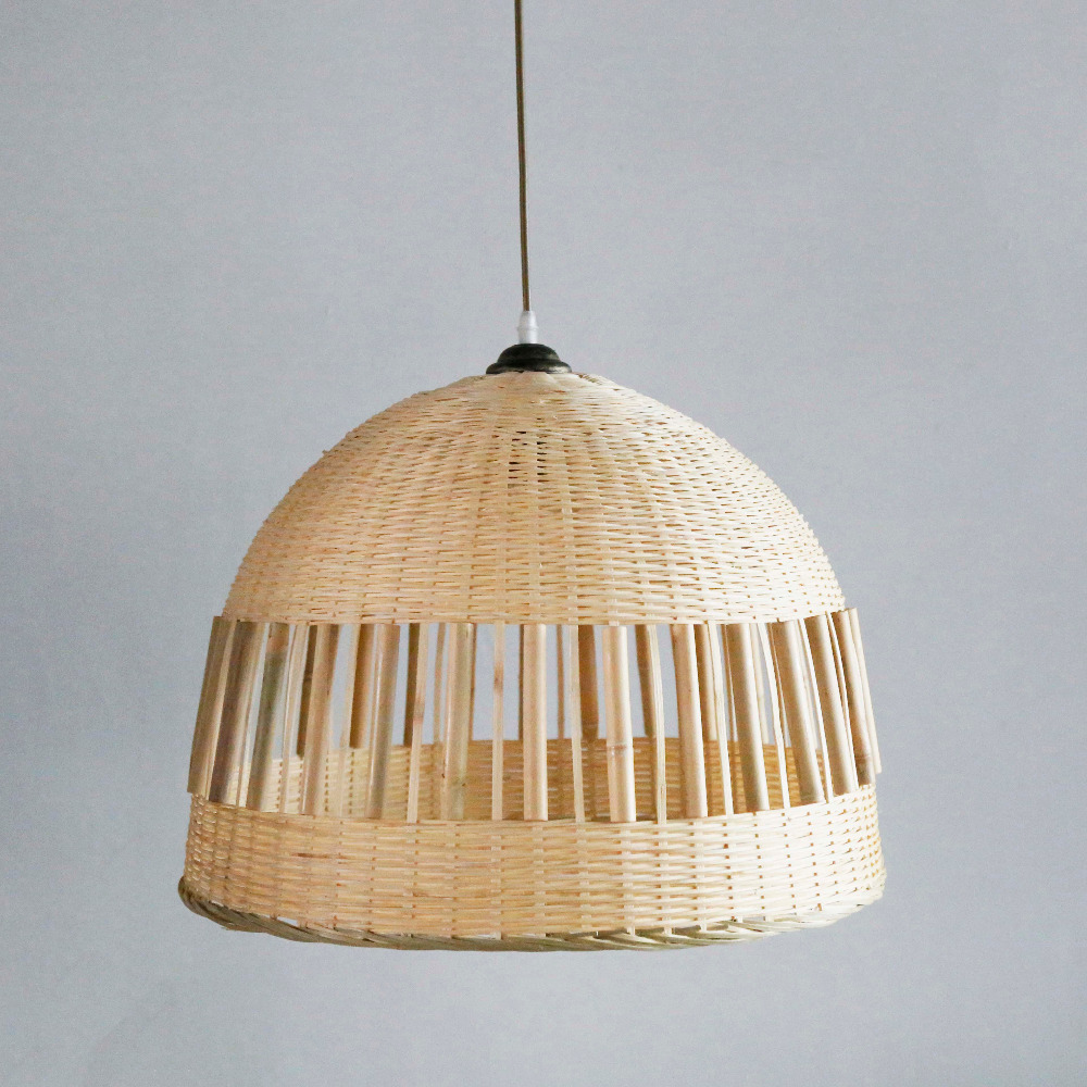 French Cane Pyramid Style edison vintage industrial pendant lamp