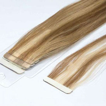 100% Remy Human hiar tape hair extensions #8/613