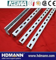 electrical galvanized unistrut channel cable support system