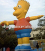 advertising inflatable simpson giant bart simpson family modle