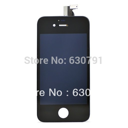 Best  Quality Type LCD Display+Touch Screen digitizer+Frame assembly for iPhone 4S, 100% Guarantee Original LCD,Black/white
