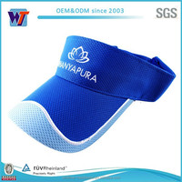 Hot Various color sample free cotton sun visor