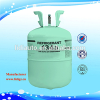 13.6kg refrigerant gas disposable r134a gas cylinder