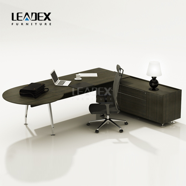 Modern L shape full melamine office table executive ceo desk office desk