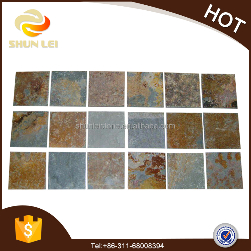 Natural multicolor slate Flagstone Mats