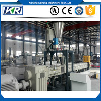 Lab Scale Plastic Extruder Test Extrusion Machine/Plastic pp pe film recycled granules/recycle plastic granules making machine