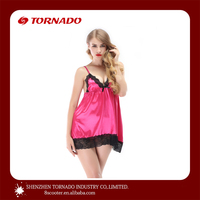 western style sexy nighty girls costumes hot satin slips plus size ladies sex image