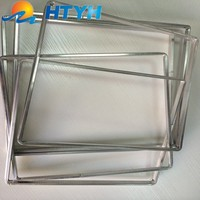 Aluminum Spacer bar For Insulating Glass And Double Glazing Glass With the Thickness 0.30 or 0.33 mm For Bendable