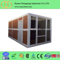 China supplier Strong and Beautifu Portable container home with EPS/PU/Rock Wool sandwich panel Container House