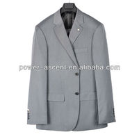 OEM Wholesale Latest Grey Men Formal Business Suit