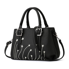 2018 wholesale new designer wholesale fashion PU stars print designer ladies purses 2017 handbags bags women handbags