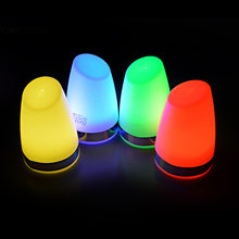 LED rechargeable lamp illuminated atmosphere table lamp modern for gift promotion