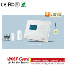 M2BX GSM Alarm System with LCD Display cheap home intruder alarm