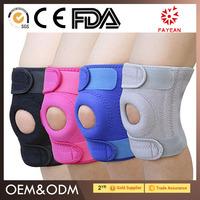 Wholesale Cheap price and good quality custom comfortable neoprene basketball knee pads,fashion sports adjustable knee brace who