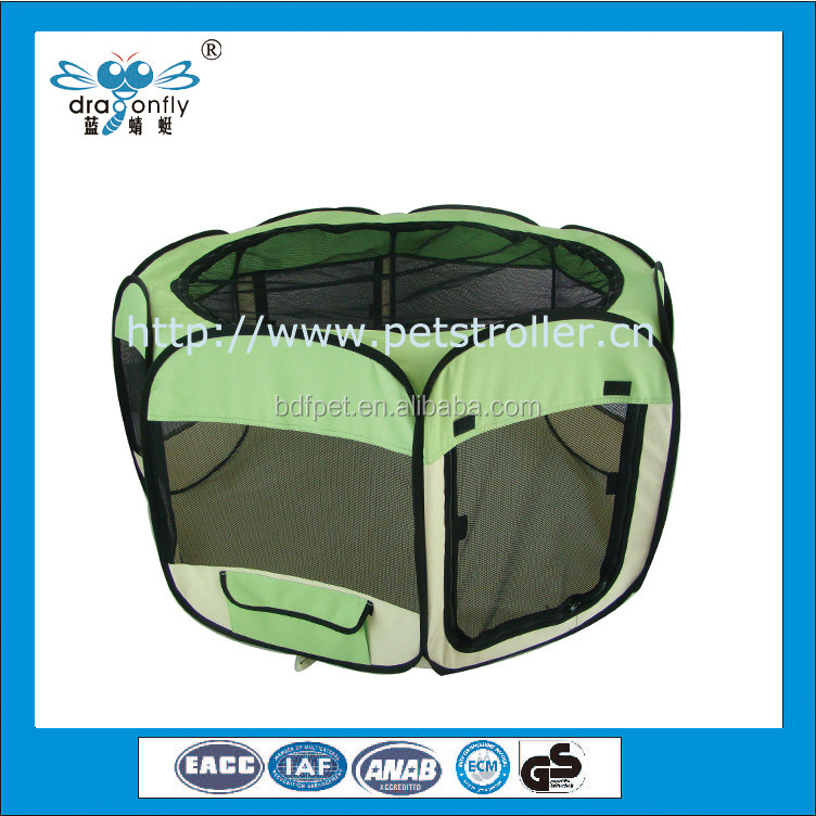 8 Panel Fabric Pet Play Pen puppi cat Pet Playpen Small Animal Cages
