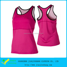 Fresh Colors Customized Quality Dri Fit Tennis Compression Tank Top For Women
