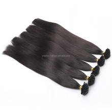 Hot Products To Sell Online Good Quality 100% Natural Brazilian Virgin Human Remy Nail Tip Hair Extensions Hair