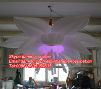 Wedding Stage Flower Inflatable Decoration With LED Lighting