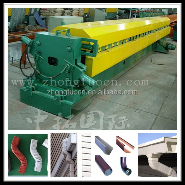 Downspout Roll forming Machine and Elbow Machine