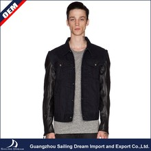 China New Design Fashion design LeatherJacket For Men