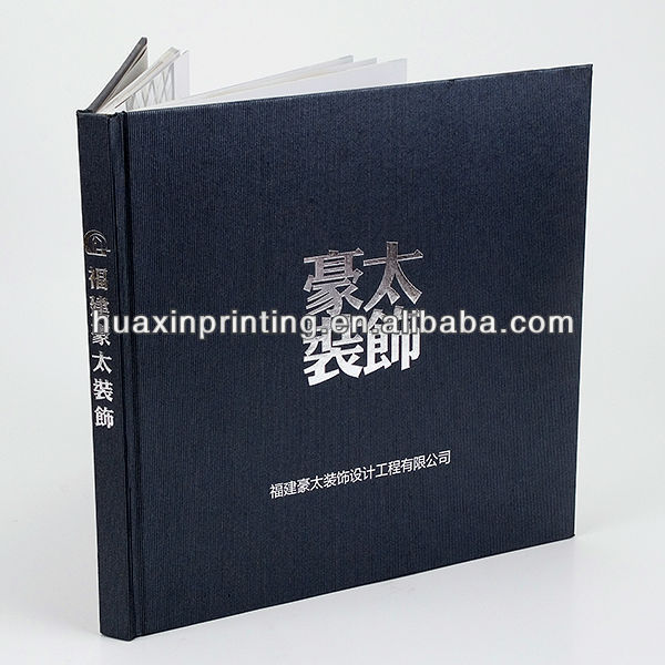 paper factory hardcover book printing