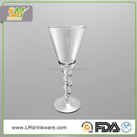 Hot new products for 2015 220ml champagne handmade german glassware