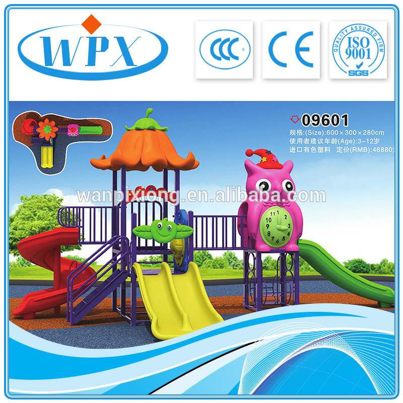 Wholesale colourful adventure child animal outdoor playground