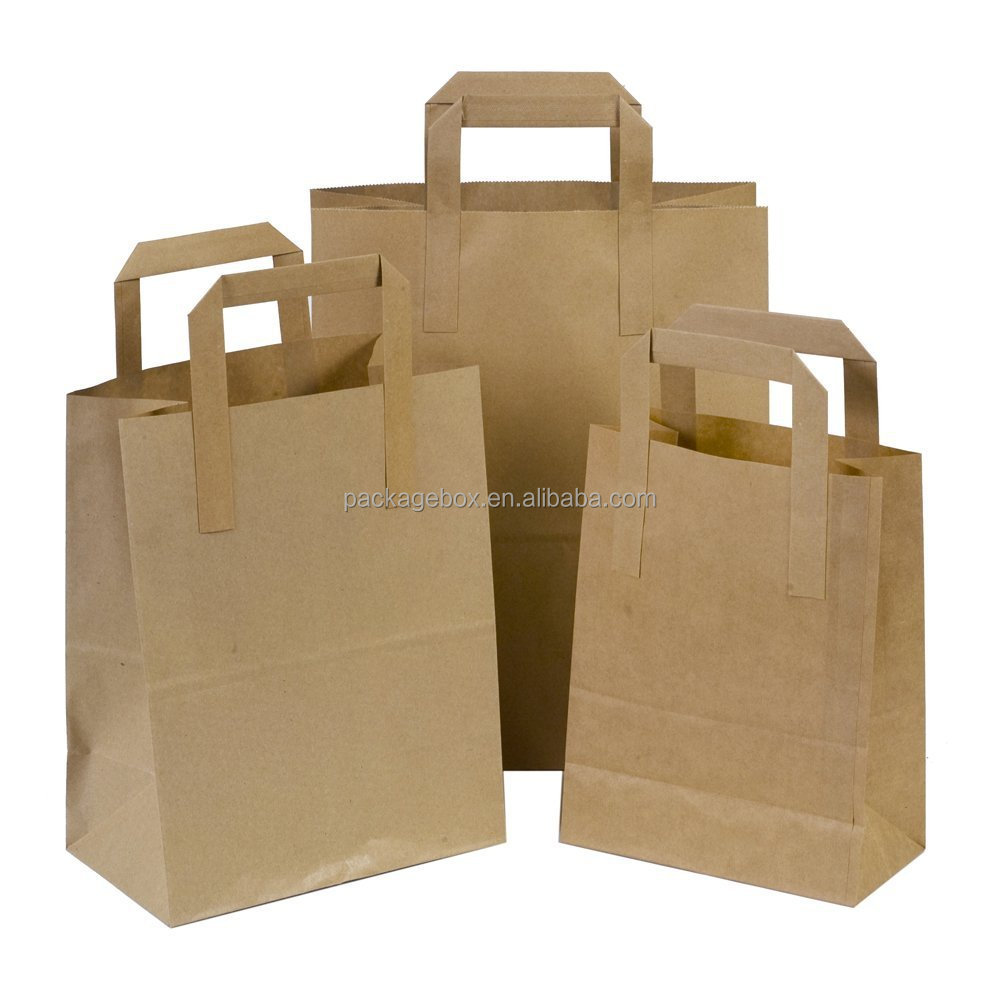 Custom made paper bag kraft high quality factory directly sale