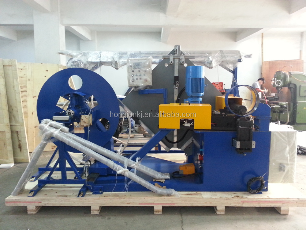 Spiral tube foming machine -----HJTF1500(roll shears)