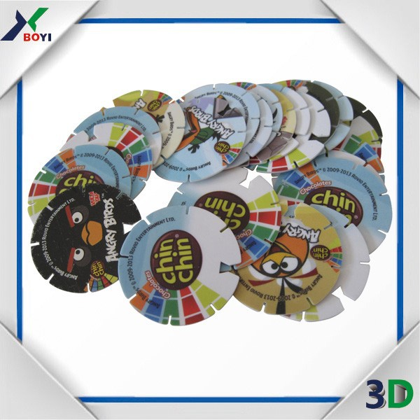 factory directly sale pokemon tazos, pog game, plastic material and promotion puzzle card