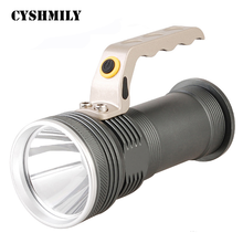 CYSHMILY High Power XML Q5 Rechargeable 18650 Handed Safety Lamp Led Searchlight