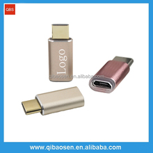USB 3.1 type-C male to micro USB female adapter / USB adapter for apple and android devices