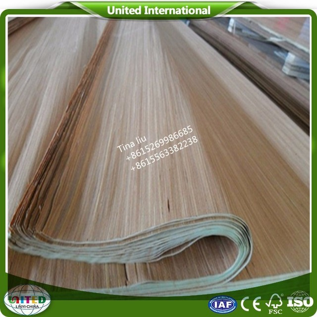 Linyi 0.15-0.4mm 48 ft grade A recon gurjan/keruing face veneer