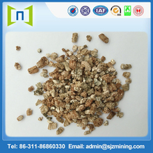gold/golden expanded Vermiculite golden exfoliated Vermiculite