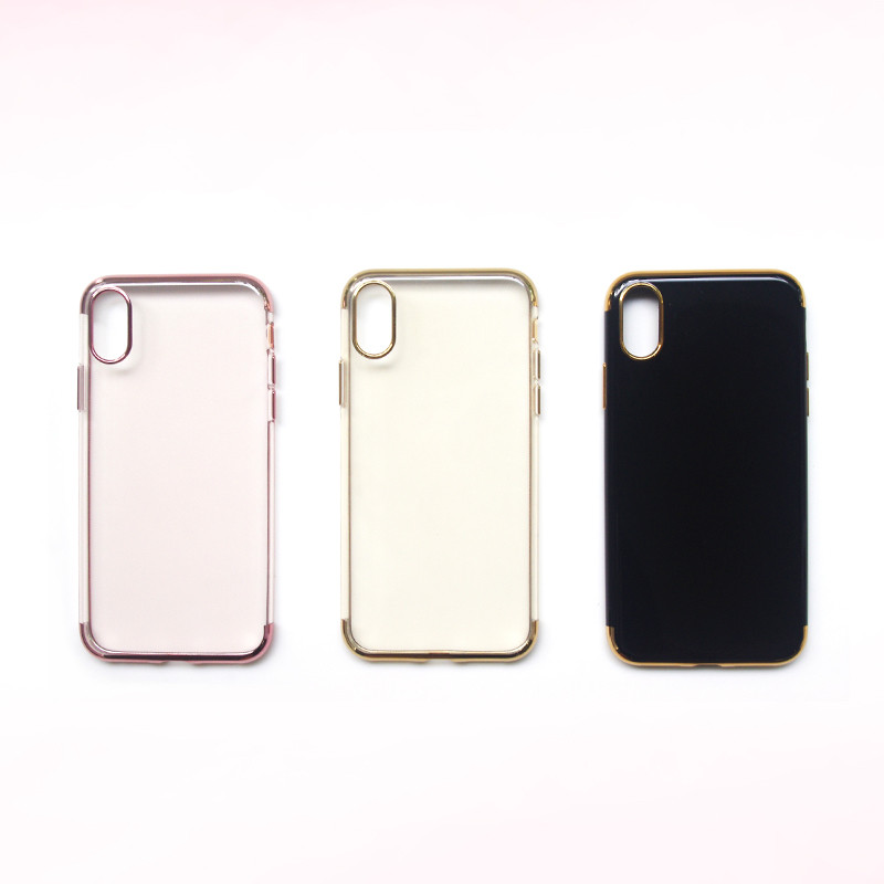 Free Sample Silicon Mobile Cell Phone Case Phone Cover for iPhone 8X