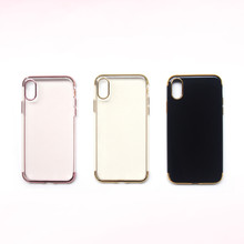 Free Sample Silicon Mobile Cell Phone Case Phone Cover for iPhone 8 8S