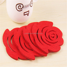 Wholesale fancy wool felt pan protector and coaster