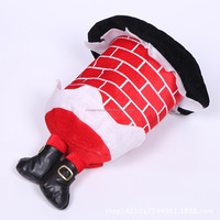 Hot Sell Cheap Funny Plush Unique Christmas Hat
