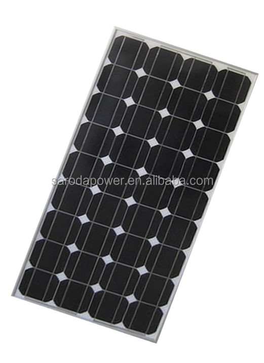 China Manufacturer 150W Mono Solar Panel for Home PV Solar System