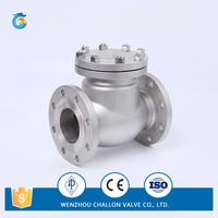 CC206JIS flanged connect check valve for drain