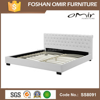 Omir furniture bedroom new design double bed bunk beds for hotels SS8091