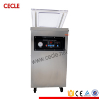 Semi-automatic hot dog vacuum packing machine