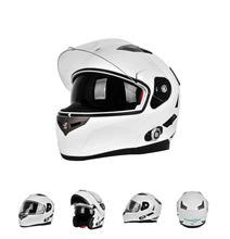 Motorcycle Half Open Face Leather Helmet Four Seasons Helmet with Goggles