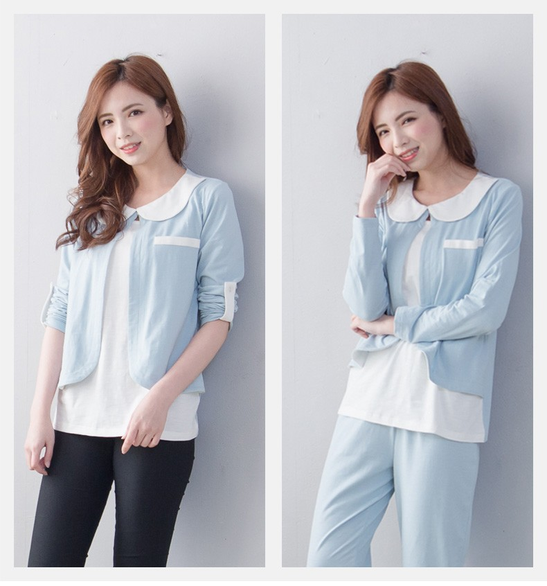 eco-friend material fashion ladies loungewear