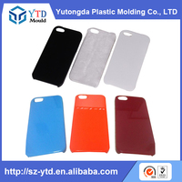 EVA PC PA PMMA PS TPE TPU TPR 4.5 inch phone case plastic injection mould