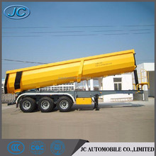 Low price 3 axles hydraulic dump tipping trailer for sale
