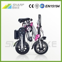Factory price low cost 12 inch fast foldable adult electric motorcycle with battery