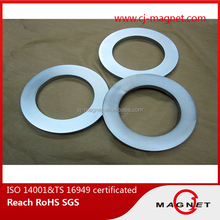 with large out diameter and small inner diameter ring shape magnet certified by TS 16949