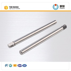 China supplier spare part high quality mild steel shaft for fan parts