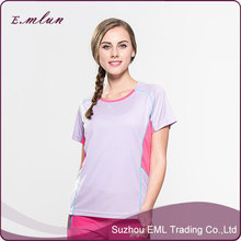 outdoor short sleeve quick dry couples t-shirt